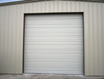 Shop garage door